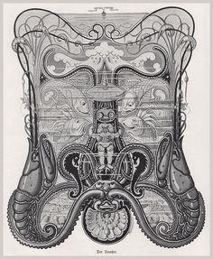 A. Reinheimer. Der Taucher. Aus einer modernen Galerie, Fliegende Blätter, München, 1901.