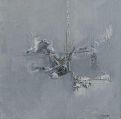 """Transition V, David Baca, 10x10"""" acrylic/panel, $750. #artgifts #abstractart #holidaygiftguide"""