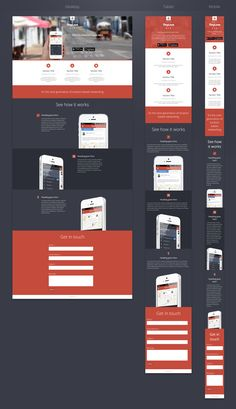 Responsive Web Page, With Some Nice Code/slide Elements Www.