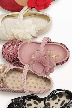 Girls Shoes Online - 3 months to 6 years - Next Corsage Mary Jane Shoes