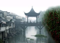 Chinese ancient architecture - The Pavilion Bridge (亭桥 Ting Qiao)