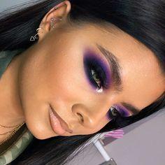 Gorgeous Makeup: Tips and Tricks With Eye Makeup and Eyeshadow – Makeup Design Ideas Purple Eye Makeup, Makeup For Green Eyes, Eye Makeup Tips, Makeup Blog, Beauty Makeup, Makeup Ideas, Makeup Hacks, Glam Makeup, Makeup Inspo