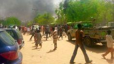 OLUWAGBEMIGAPOST: BREAKING: Boko Haram attacks Maiduguri again