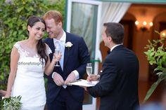 I momenti del wedding day. Il brindisi di benvenuto agli sposi.