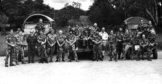 bsap patu 1976 - Google Search Korean War, Zimbabwe, Borneo, Vietnam War, Cold War, Birth, Landscapes, African, Military
