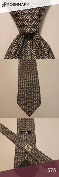 TIE RACK Silk Necktie ITALY Checks Pink/Blue GUC | My Posh Closet ...