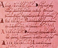 Neumes.