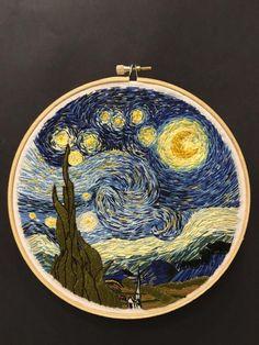 Van Gogh in thread - Album on Imgur