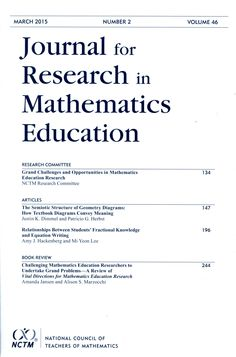 Journal for research in mathematics education.2015 Vol. 46 nº 2