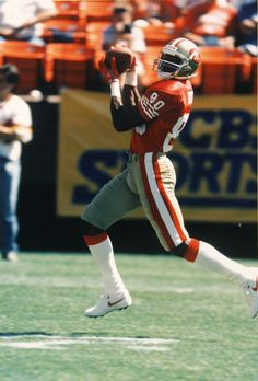 Jerry Rice.......the greatest