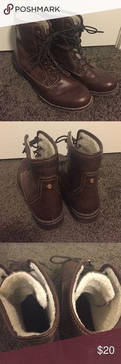 Sporto Waterproof and Faux Fur Lined Ankle Boots These little boots are a great staple for fall. Warm and will keep your feet dry in any weather! Great condition, only worn once. sporto Shoes Ankle Boots & Booties