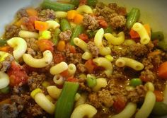 Beef Macaroni Soup Recipe -  How are you today? How about making Beef Macaroni Soup?