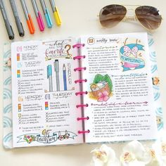 I love the look of my last week in my BuJo. I added a week review to go over my…