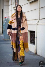 Milan Men's Fashion Week FW 2016 Street Style: Gilda Ambrosio