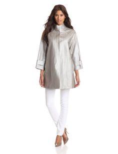ELIE TAHARI Women's Ashton Coat, Silver, X-Small Elie Tahari http://www.amazon.com/dp/B00BEDIVOO/ref=cm_sw_r_pi_dp_TQu8vb09Y68JN