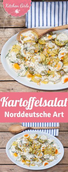 Norddeutscher Kartoffelsalat mit Mayonnaise - das Grundrezept
