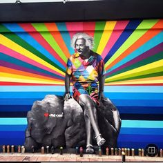 The Kaleidoscope Street Art Portraits of Eduardo Kobra (24 Photos)