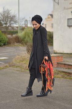 Dina Torkia | All black