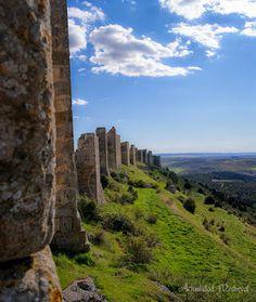 Castillo de #Gormaz (Soria) La fortaleza islámica califal más grande de Europa