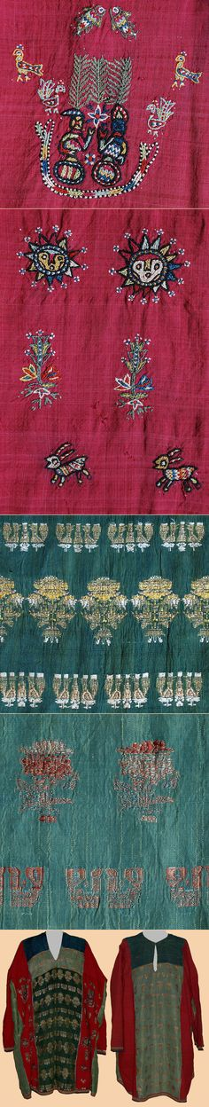 Antique Zoroastrian Silk Embroidery Shirt