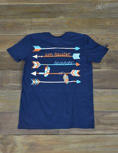 Follow the arrows straight to the Sam Houston State! You will ROCK this new t-shirt! Go SHSU Bearkats!