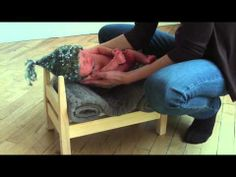 Newborn photography - behind the scenes. Very good video.