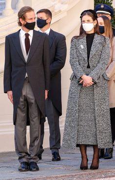 Andrea Casiraghi, Charlotte Casiraghi, Princesa Charlene, Tweed, Royal Clothing, Monaco Royal Family, Princess Alexandra, Real Queens, Casa Real