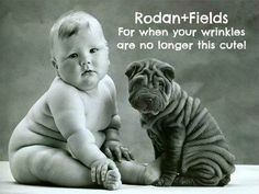 This picture says it all - order Redefine now and get rid of your wrinkles - unless of course you are one of these two! www.tda.myrandf.com