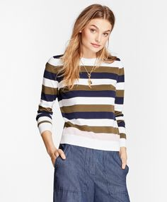 Women's Cotton Sweaters from Lands' End | clothing | Pinterest ...