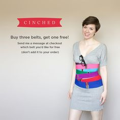 Buy three belts and get one free in the Etsy Cinched store. Hourglass Figure, White Ribbon, Belts For Women, Perfect Fit, That Look, Super Cute, Mini Skirts, Stylish, Pretty