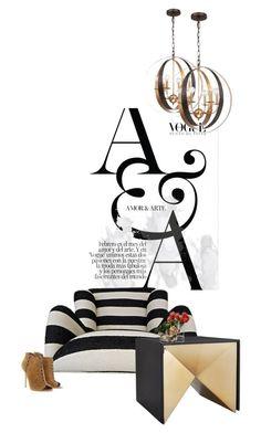 """a&a"" by katrisha-art ❤ liked on Polyvore featuring interior, interiors, interior design, home, home decor, interior decorating, Crystorama, Michael Kors, LSA International and John-Richard"