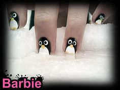 Penguin Nails    If you are looking for the next cute thing, look at the - faces of the beloved penguins and you will find your happiness.