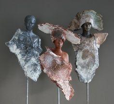 Stone art with powertex