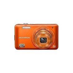 Olympus VG-160 14MP Digital Camera with 5x Optical Zoom (Orange)