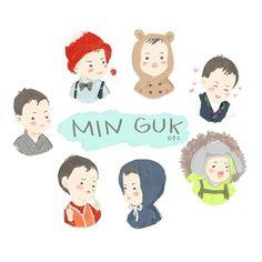 Lee Dong Gook, Cute Kids, Cute Babies, Man Se, Song Triplets, Cute Songs, Miss You Guys, Cutest Thing Ever, Little Darlings