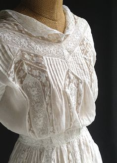 Antique summer dress No.132062