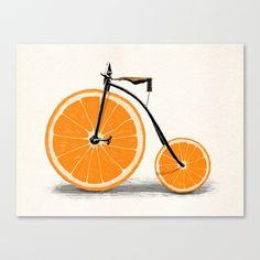 Vitamin Stretched Canvas by Speakerine | Society6