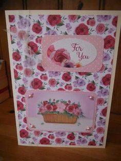 Blooming marvellous collection by Kanban Crafts.  Coloured roses.