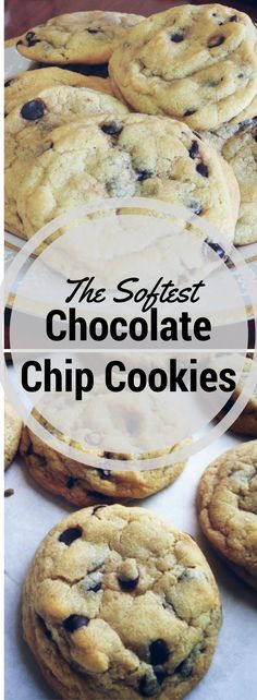 Best recipe for delicious and soft cookies 🍪 Delicious Cookie Recipes, Dessert Recipes, Yummy Food, Make Chocolate Chip Cookies, Chocolate Chips, Cookie Desserts, So Little Time, Love Food, Sweet Tooth