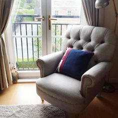 Britannia 4 Seater Sofa with Studs Wingback Chair, Armchair, Team Gb, Dfs, Great British, Modern Decor, Olympics, Classic Style, Love Seat