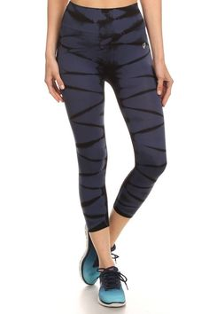 Fierce And Fit Cropped Leggings