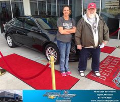 #HappyAnniversary to Tammy Harris on your 2013 #Chevrolet #Malibu from Phillip Burnette at Crossroads Chevrolet Cadillac!
