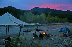camping Glacier Nati