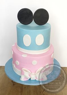 Minnie and Mickey gender reveal