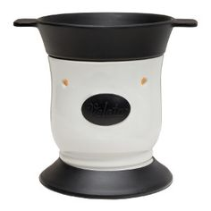 Licorice Pedestal Fondue $40.00 USD same color available in the Curve style fondue!