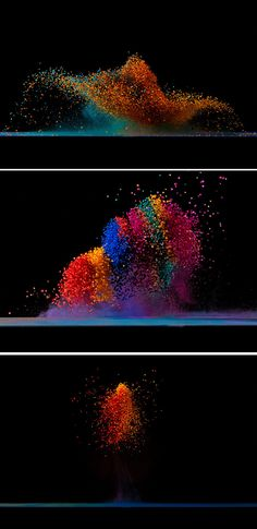 Dancing Colors  making sound waves visible  by Fabian Oefner …
