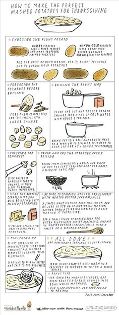 How to Make the Perfect Mashed Potatoes for Thanksgiving via The Secret Yumiverse