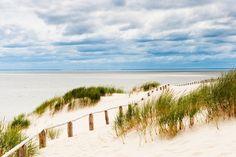Les plages de l'isthme de Courlande en Lituanie