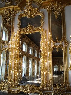 Details, details...The Catherine Palace, St Petersburg, Russia, photo by Jim G, jimg944 via Flickr.