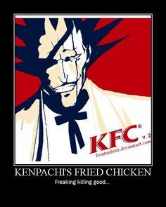 kenpachi zaraki | Kenpachi Zaraki - Bleach Anime Fan Art (33989465) - Fanpop fanclubs